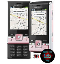 Sony ERICSSON t715 ROSA (senza SIM-lock) 3g 4 volume 3,2 MP Flash Radio rarità