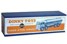 DINKY Reproduction Box 504 Foden 14-Ton Tanker 1st Cab
