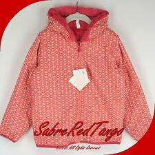 NWT HANNA ANDERSSON SEVEN DAYS A WEEK REVERSIBLE JACKET CHARMING PINK 140 10