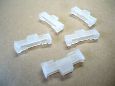 SERVO EXTENSION LEAD LOCKS X5 CLEAR FITS FUTABA JR