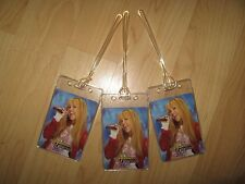 Hannah Montana Luggage Tags - Miley Cyrus Disney Channel Music Name Tag Set 3