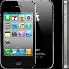 FACTORY UNLOCKED AT&T iPhone 4 32GB Black GSM Video Smart Phone GUARANTEED *8/10