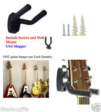 Guitar Hanger Hook Holder Wall Mount Hanger with Special Dry Wall Anchors GRJ-Q1