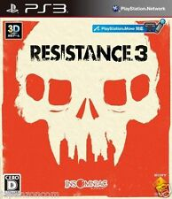 Used PS3 Resistance 3  SONY PLAYSTATION 3 JAPAN JAPANESE IMPORT