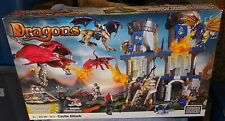 MEGA BLOKS 2009 DRAGONS CASTLE ATTACK SET #9414