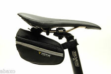 Topeak Wedge Pack II Small Bicycle Bag Saddle Bag Fixie Road Bike w/ Rain Cover