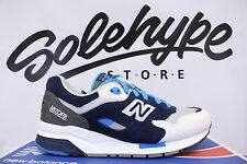 NEW BALANCE CM1600CO MECHA GREY BLUE BLACK WHITE SZ 10