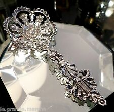 TIFFANY & CO. STERLING SILVER ANTIQUE ELABORATE RETICULATED RELISH SPOON 2300A