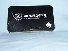 Toronto Maple Leafs NHL TEAM DOMINOES Double Six Domino Set  NEW in GIFT TIN BOX