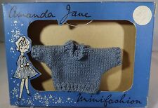 VINTAGE 1960s BOXED AMANDA JANE JINX KNITTED JUMPER (641) MINIFASHION CLOTHES
