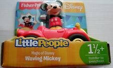 Fisher Price Little People Waving Mickey Magic of Disney NEW