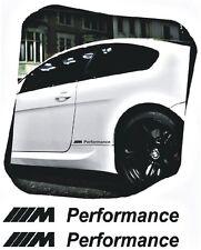 2x BMW M Performance Aufkleber decal E46 E90 E60 F30 F20 M3...