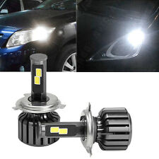 New 2 Pcs DC 9-36V H4 COB 120W CREE LED Car Headlight Kit Hi/Lo Beam Bulbs 6000K