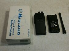 NOS Midland Legacy SP-430 2-Way RadioBattery and Antenna No Charger Included
