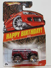 HOT WHEELS HAPPY BIRTHDAY HUMMER H2