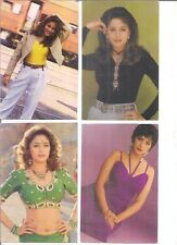 INDIA - PICTURE POST CARD - BOLLYWOOD ACTRESS - MADHURI DIXIT - 12 IN 1 LOT