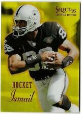 1995 Select Certified Mirror Gold ROCKET ISMAIL (ex-mt) Los Angeles Raiders