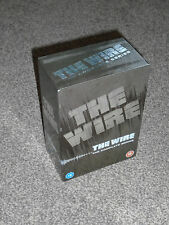 THE WIRE : THE COMPLETE SERIES 1 - 5 DVD BOXSETS IN VGC (FREE UK P&P)