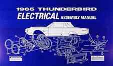 1965 FORD THUNDERBIRD ELECTRICAL WIRING ASSEMBLY MANUAL