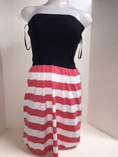 Milly Women`s Striped Sweater Tube Dress Size P