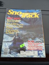 Oct 1979 SNOTrack snowmobile magazine Scorpion 440 COVER  Polaris Arctic Cat