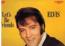 MFD IN CANADA RCA BLUE LABEL CAS-2408 ROCK LP ELVIS PRESLEY : LET'S BE FRIENDS