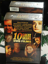 10 Great Drama DVD Films (DVD) 5-Disc Set! Innocent Victims, Getting Gotti, NEW!