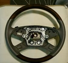 W212 wood steering wheel. E350 E550 sedan Mercedes Benz