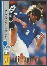 UPPER DECK LEGGENDA AZZURRA-ITALY-1998- #12-GRANDI CAPITANI-PAOLO MALDINI