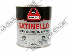 BOERO SATINELLO - TINTE NCS - 750 ml - SMALTO SATINATO