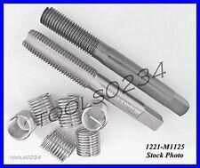 Perma Coil 1221-M1125 M11 x 1.25 Thread Repair Insert Kit w/ Tool Fits Heli USA