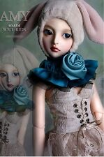1/4 BJD doll delf Girl Amy FREE FACE MAKE UP+FREE EYES -Amy