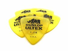 Dunlop Guitar Picks   Ultex Tri  Triangle  6 Pack  1.14mm  (426P1.14)