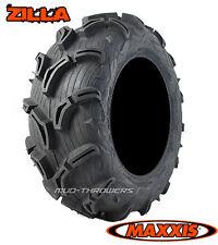 """26"""" Maxxis Zilla ATV Mud Tires - Set of 4 New 26x9x12 26x11x12"""
