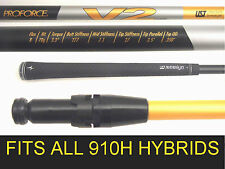 Titleist V2 910H UST HYBRID REGULAR GRAPHITE SHAFT+TIP Adapter fit 3/19 + 4/21