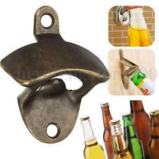 Bronze Wall Mount Open Wine Beer Soda Glass Cap Bottle Opener Kitchen Bars Party