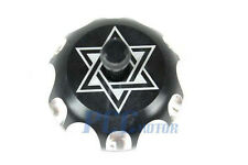 BLACK CNC BILLET FUEL GAS CAP For SUZUKI DRZ 125 250 400 400E LTR 450 I GC13S