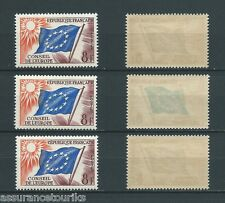 FRANCE SERVICE - 1958 YT 17 - TIMBRES NEUFS** LUXE