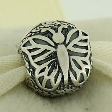 Authentic Pandora 791256 Lacewing Butterfly Clip Sterling Silver Bead Charm