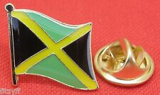 Jamaica Jamaican Country Flag Lapel Hat Tie Cap Pin Badge Brooch