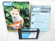 MSX HARY FOX SPECIAL The snowy Devil  Import Japan Video Game 0177 msx