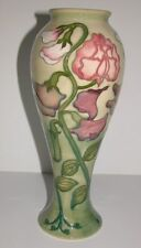 Moorcroft Sweet Pea Vase - Made for the Collectors Club in 1991