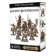 Age of Sigmar Warhammer Khorne Bloodbound Start Collecting  NIB