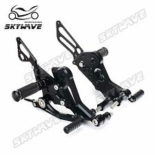 Ducati Monster 696 15 Rearsets Rear Sets Footpegs Footrests New ADJUSTABLE ALLOY