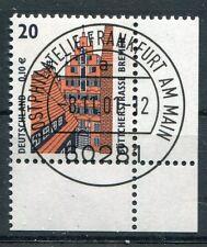 Bund Mi-Nr 2224  Ecke 4  (0,10) -SWK (XXX)- EST Frankfurt am Main 2001