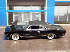 1968 DODGE CHARGER R/T BLACK RARE 1:64 LIMITED EDITION DIECAST COLLECTIBLE MODEL