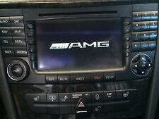 Mercedes Benz W211/W219 E-Class/CLS Nav NTG1 COMAND Logo AMG Star