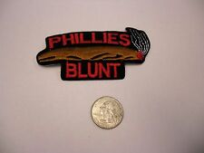 Phillies Blunt Logo Fuzzy Smoke Weed IRON/SEW ON EMBROIDERED PATCH NEW