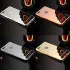 Luxury Aluminum Ultra-thin Metal Mirror+PC Back Case Cover Bumper For Huawei