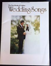 New Book of Golden Wedding Songs Piano Vocal Chords wedding march 1988 Belwin